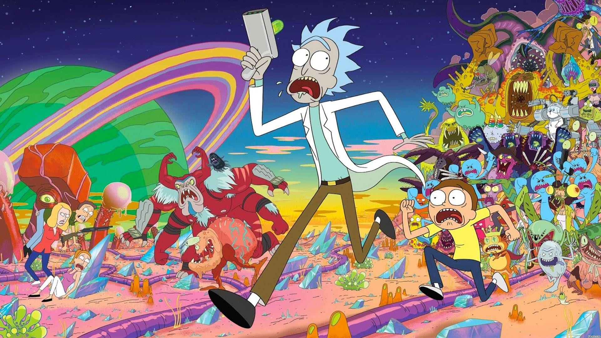 Rick y Morty Temporada 4 - Primeras Imágenes Nueva Temporada