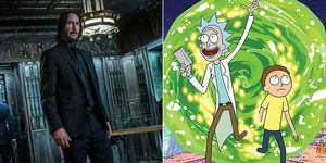 John Wick Rick y Morty