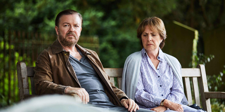 Ricky Gervais, After Life, Netflix