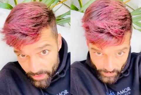 celebrities pink hair dye coronavirus quarantine
