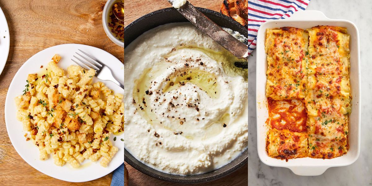 Ricotta Recipes That Remind Us Why We Love The Smooth Italian Cheese SO Much!