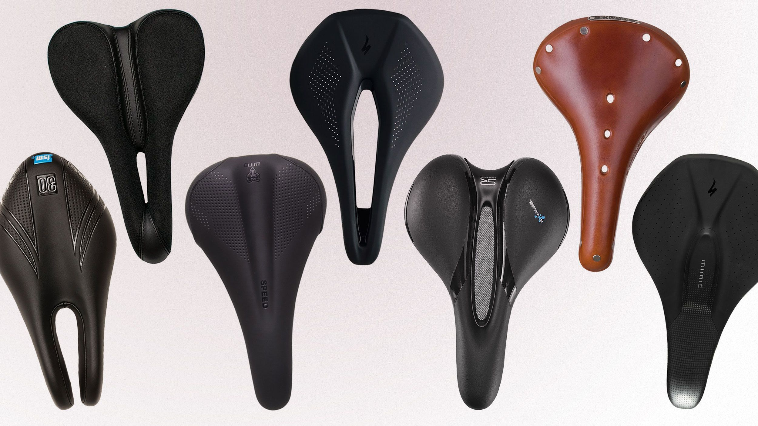 Bicycle Saddles Comfortable Widened Electric Bicycle Breathable Seats C1I7