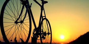 consejos, montar, bicicleta, verano