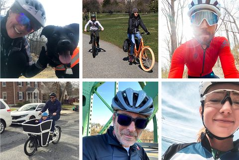 Cycling, Bicycle helmet, Bicycles--Equipment and supplies, Product, Helmet, Vehicle, Recreation, Bicycle, Personal protective equipment, Collage,