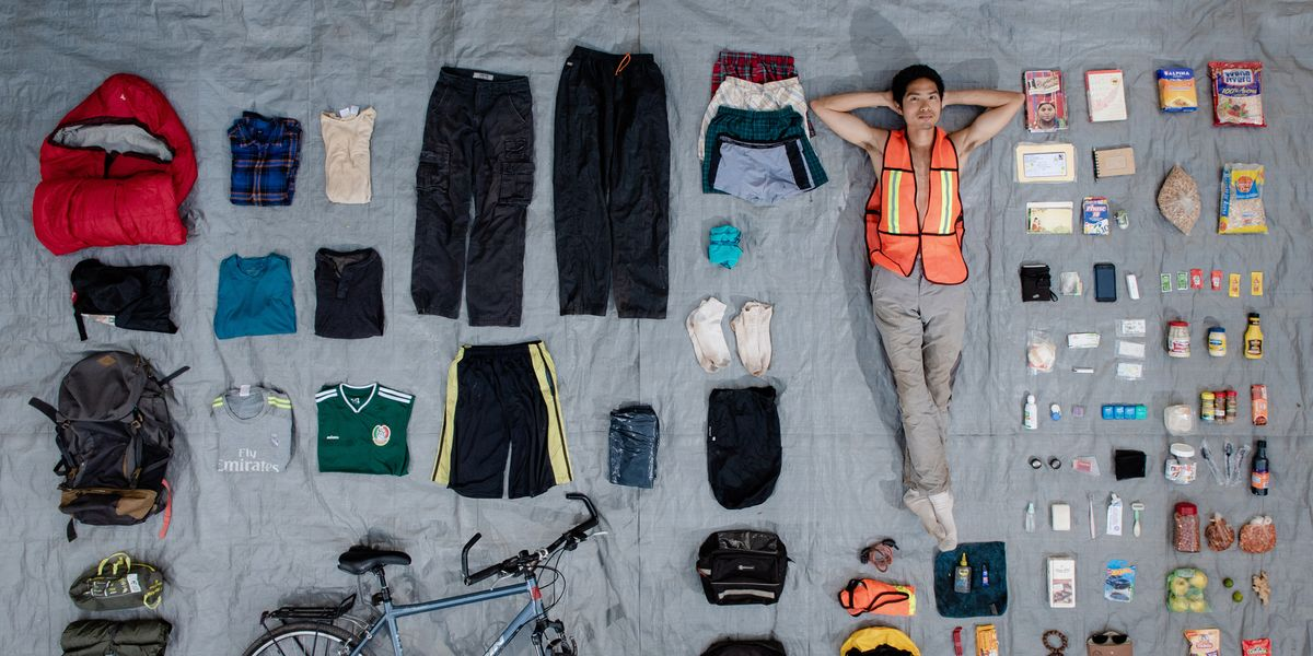Check Out What These Cyclists Packed for a Long-Distance Bike Trip
