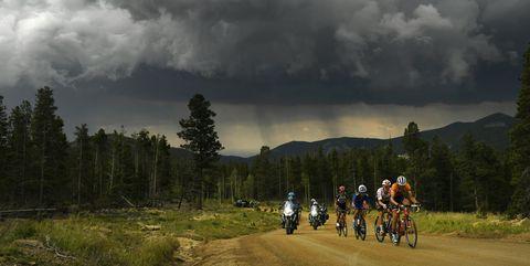 Colorado Classic bike race Stage 3 in Denver, Colorado