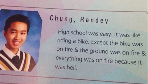 30 Funny Yearbook Quotes 2019 - Best Senior Quotes for Yearbooks