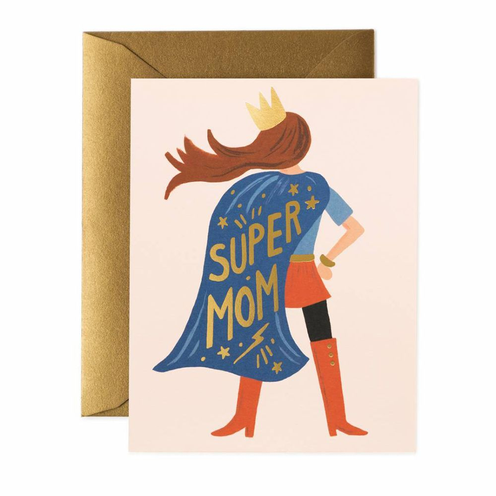 Rifle Paper Co. 'Super Mom' Mother's Day Card