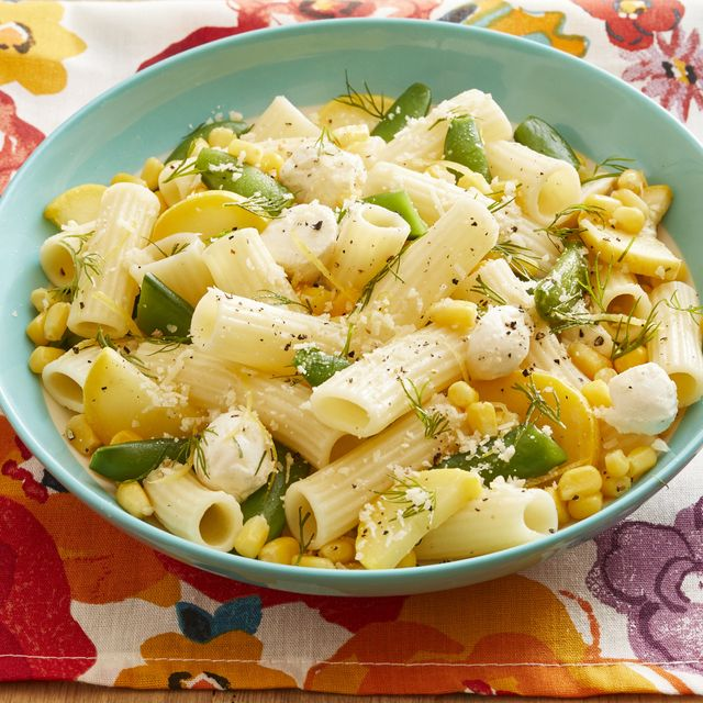 rigatoni with summer vegetables
