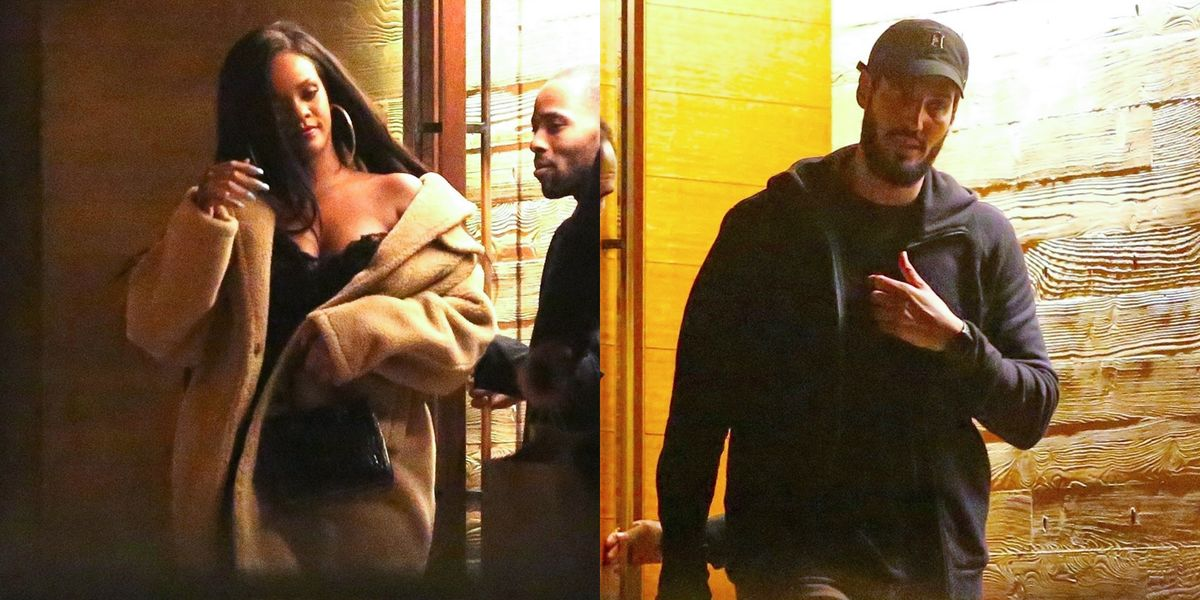 Rihanna And Her Billionaire Boyfriend Reunited For A