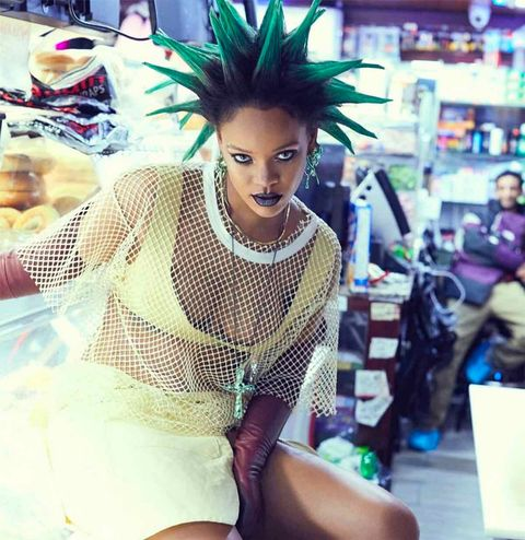 Look Rihanna Estatua de la Libertad