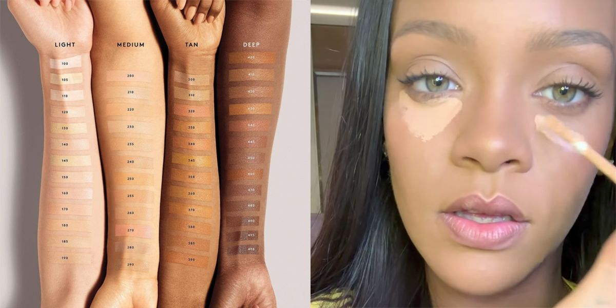 Rihanna Is Launching 50 Shades of Concealer - Fenty Beauty Pro Filt ...