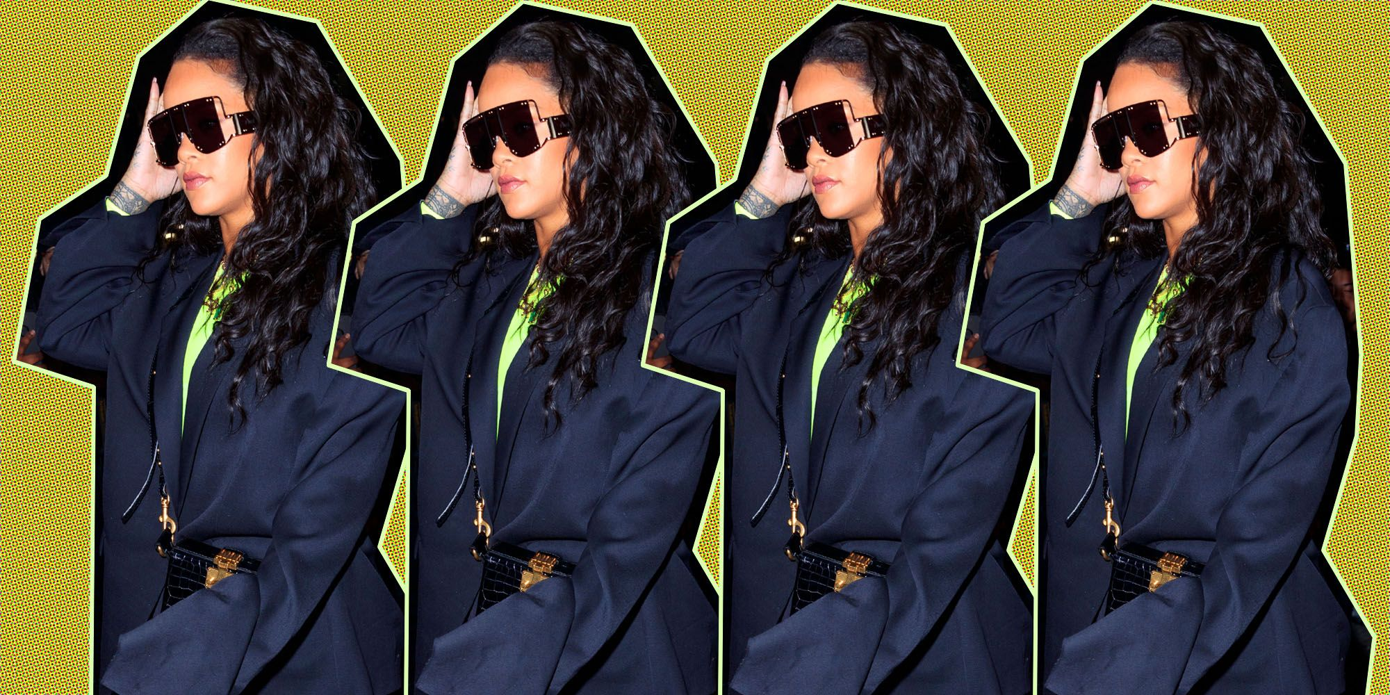 Rihanna Air Jordan 1s Off White