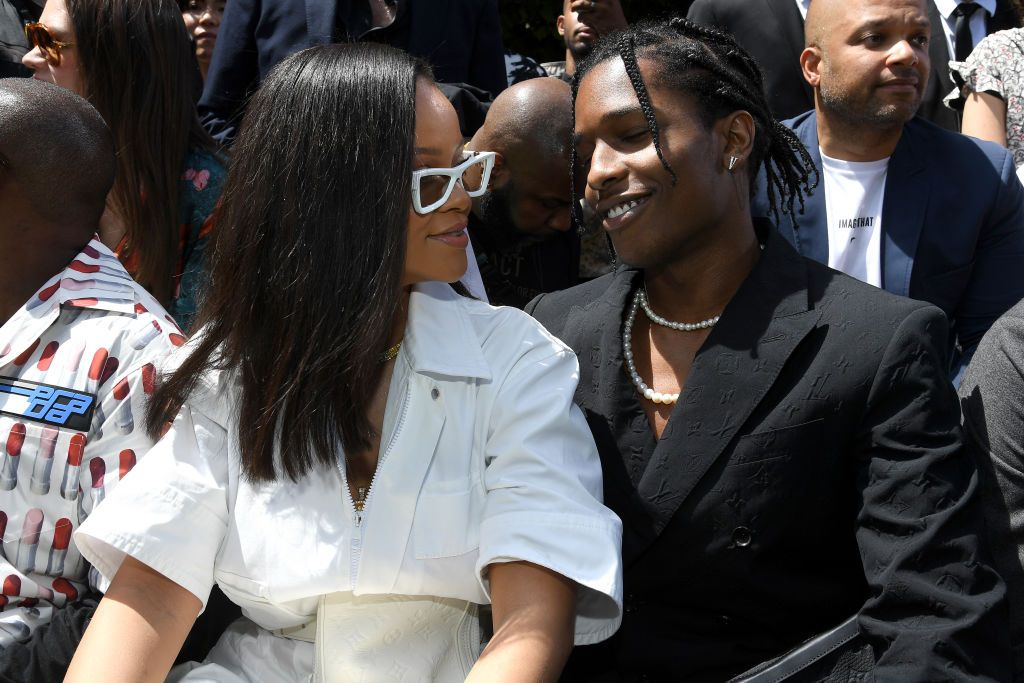 A$AP Rocky Was 'Very Into Rihanna for Years' Before They Got Together