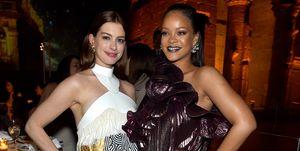 Rihanna, Anne Hathaway