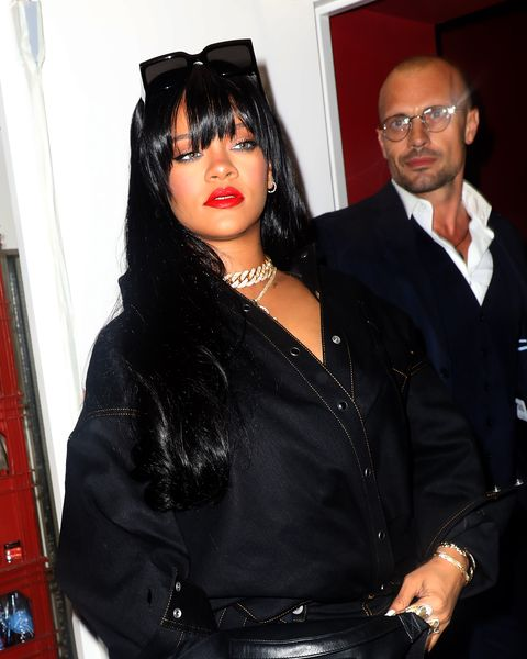 Rihanna Got Bangs for Fall, So Now We Will Too - Rihanna New ...