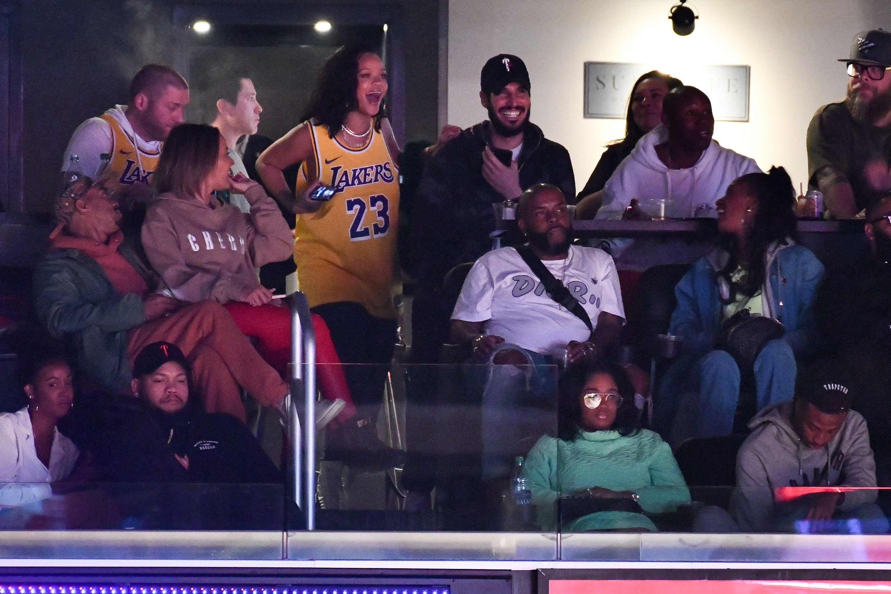 Rihanna Took Her Boyfriend Hassan Jameel On Public Date To Lakers Basketball Game