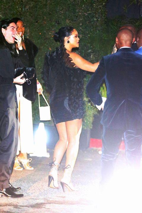 Rihanna at Beyoncé's Oscar after party