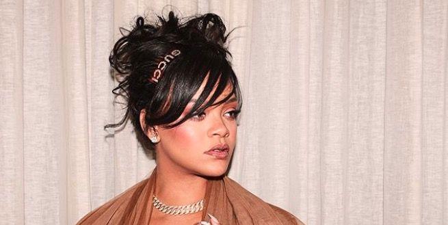 Rihanna Coachella thigh high ugg boots