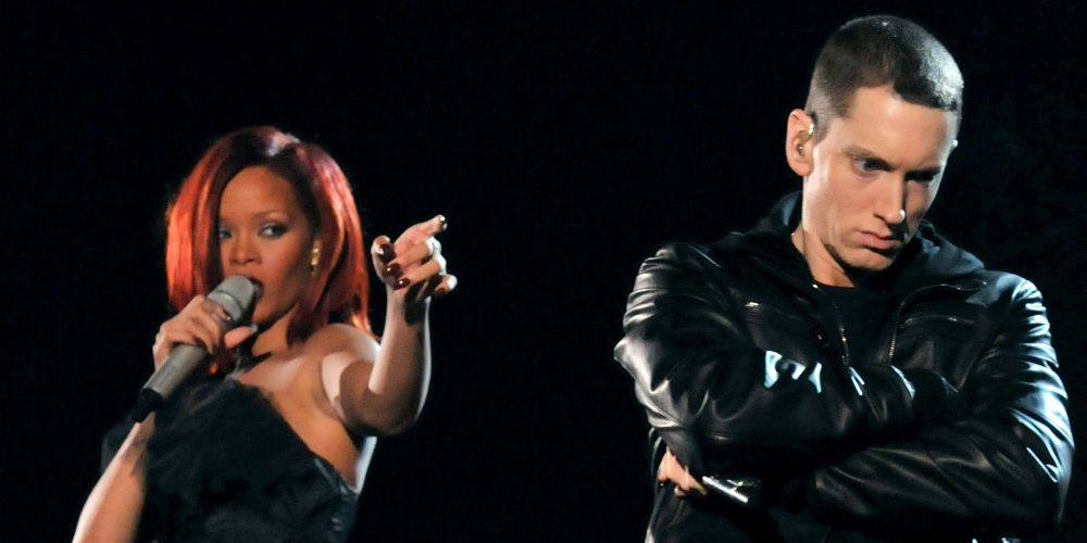Rihanna en Eminem