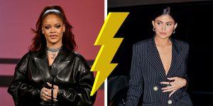 Rihanna Kylie Jenner