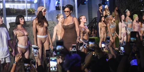 Rihanna Savage Fenty lingerie show