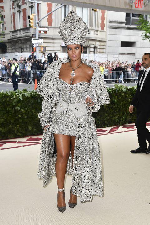 Rihanna S Met Gala Evolution Every Dress She S Worn From