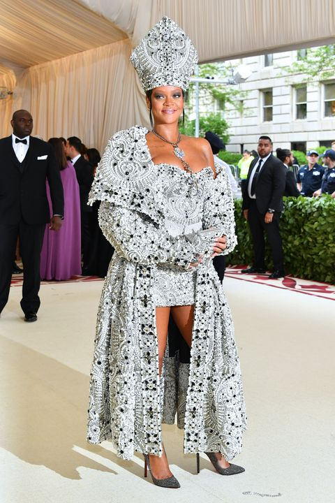 Rihanna Dressed Like The Pope At The 2018 Met Gala