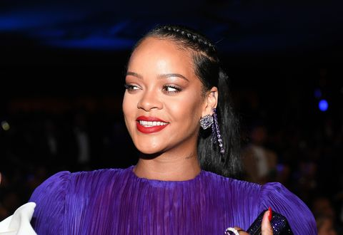 pasadena, california   february 22 rihanna attends the 51st naacp image awards, presented by bet, at pasadena civic auditorium on february 22, 2020 in pasadena, california photo by paras griffingetty images for bet