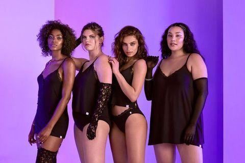Purple, Thigh, Fashion, Violet, Waist, Trunk, Leotard, One-piece garment, Abdomen, Jheri curl,