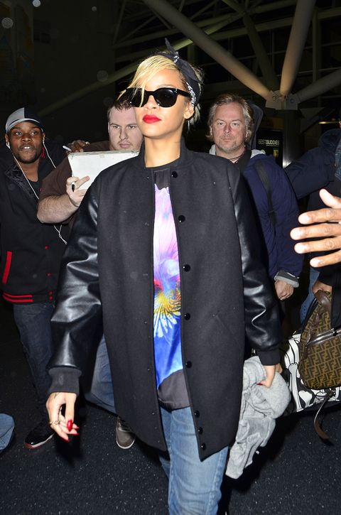 BuzzFoto Celebrity Sightings In New York - March 18, 2012