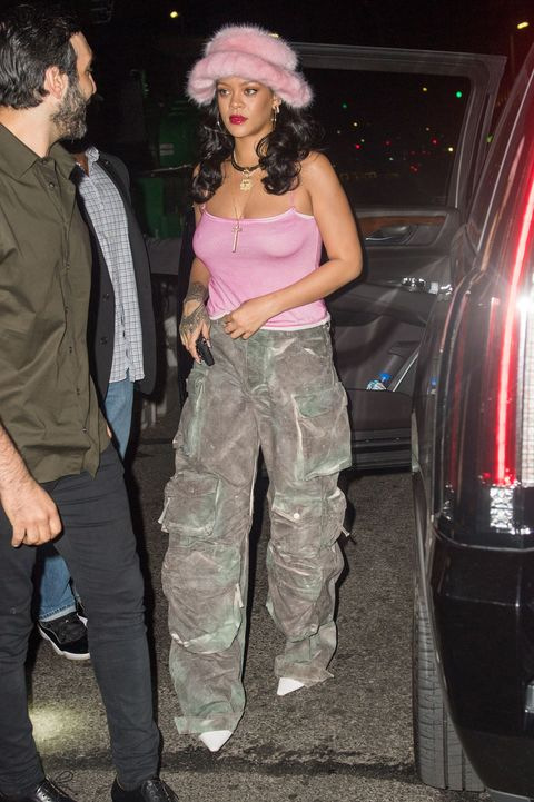 rihanna out in nyc on august 1, 2021