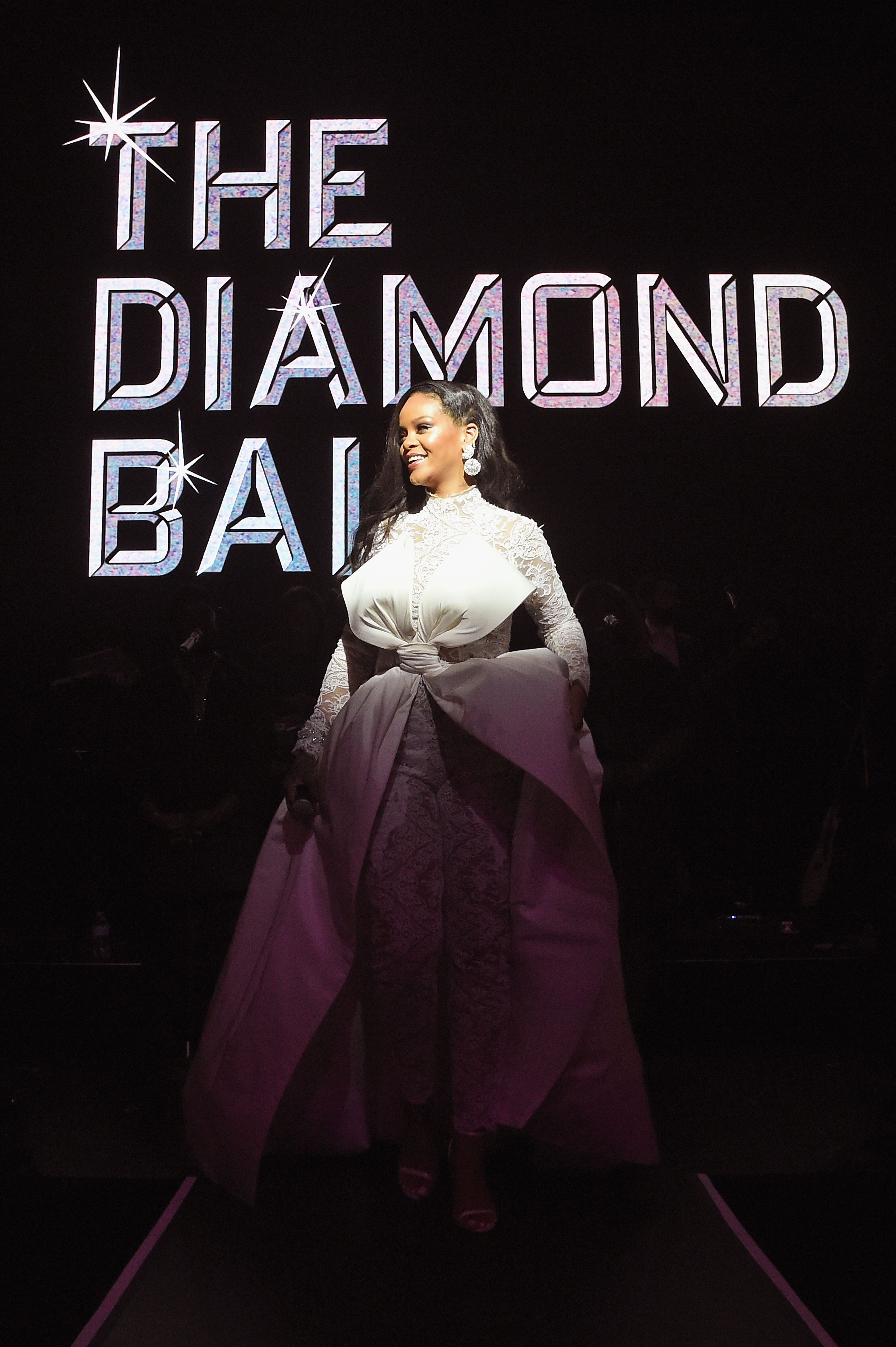 d0c222519587 Rihanna s Diamond Ball Raises Nearly  6 Million for Charity