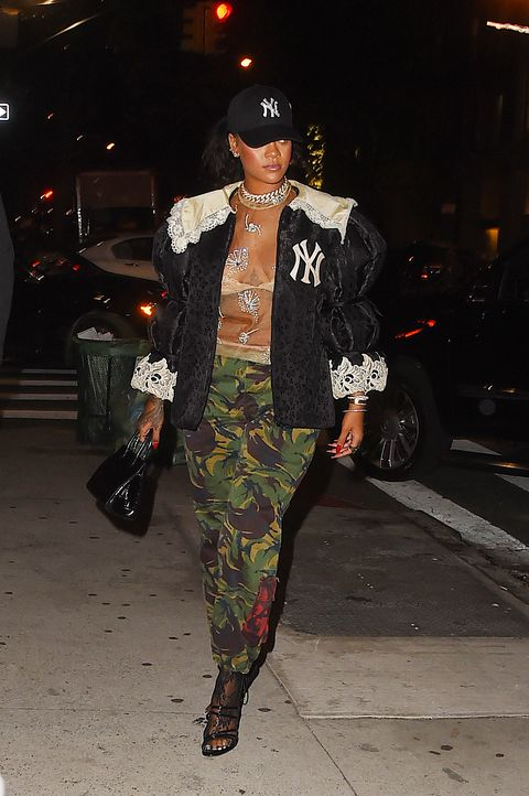 Rihanna S Best Outfits Rihanna Fashion Evolution And