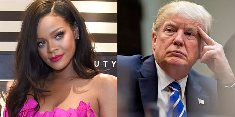 Rihanna and Trump