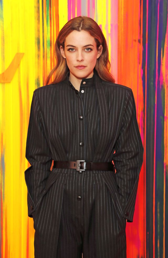 riley keough at the louis vuitton new bond street maison reopening