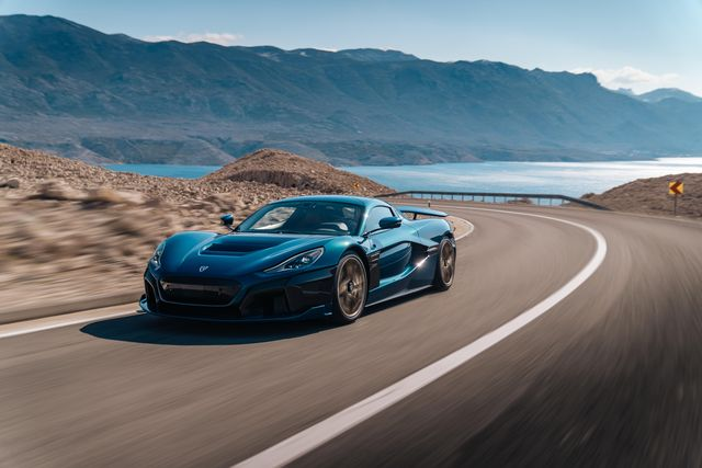 the rimac nevera packs a punch