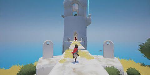 Landmark, Sky, Screenshot, Adventure game, World, Animation, Illustration, Tower, Fictional character, Games,