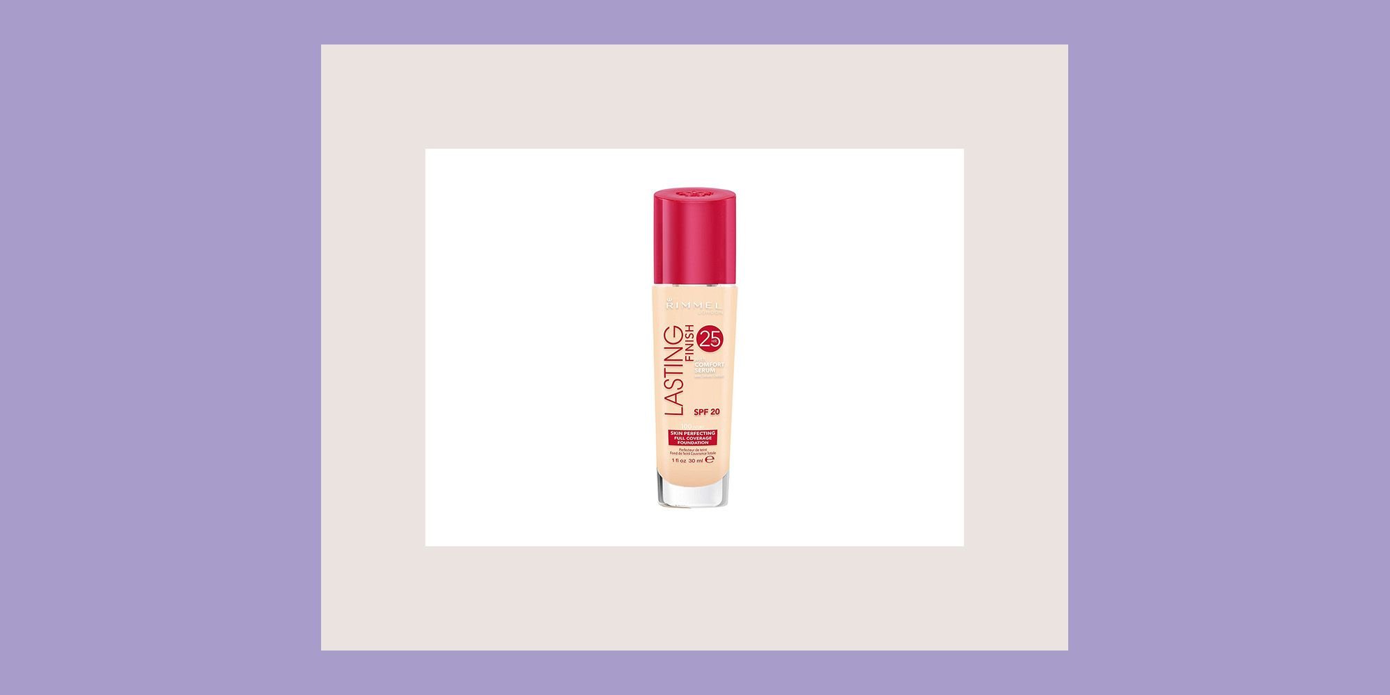Rimmel London Lasting Finish 25 Hour Full Coverage Liquid Foundation