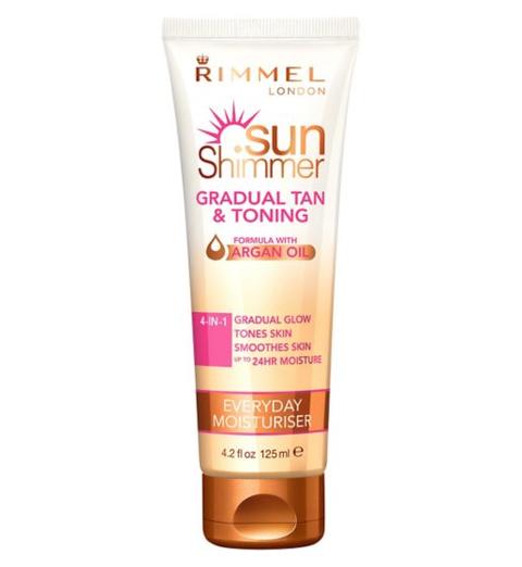 Rimmel Sun Shimmer Gradual Tan & Toning