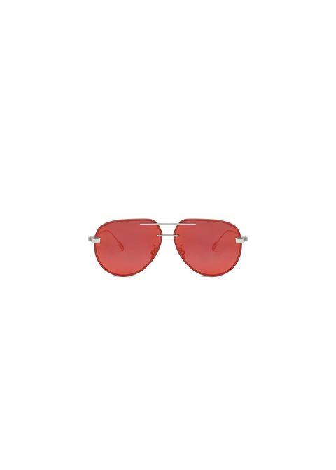 rimowa pilot red mirror sunglasses