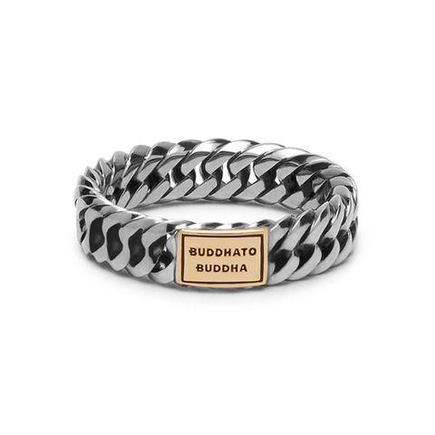 buddha to buddha gold chain ring mannen sieraden zilver goud