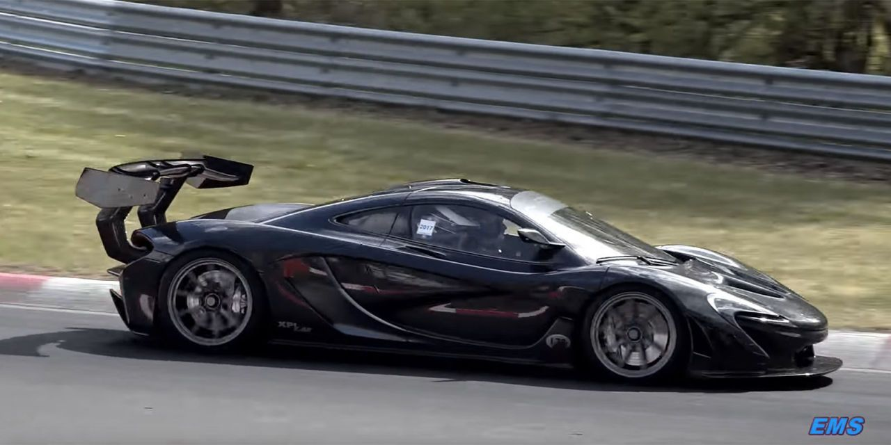 Mclaren P1 Lm Shatters Nurburgring Record With 6 43 2 Lap