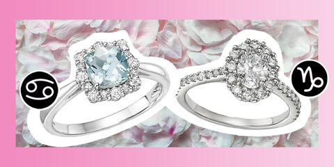 engagement ring for your sign