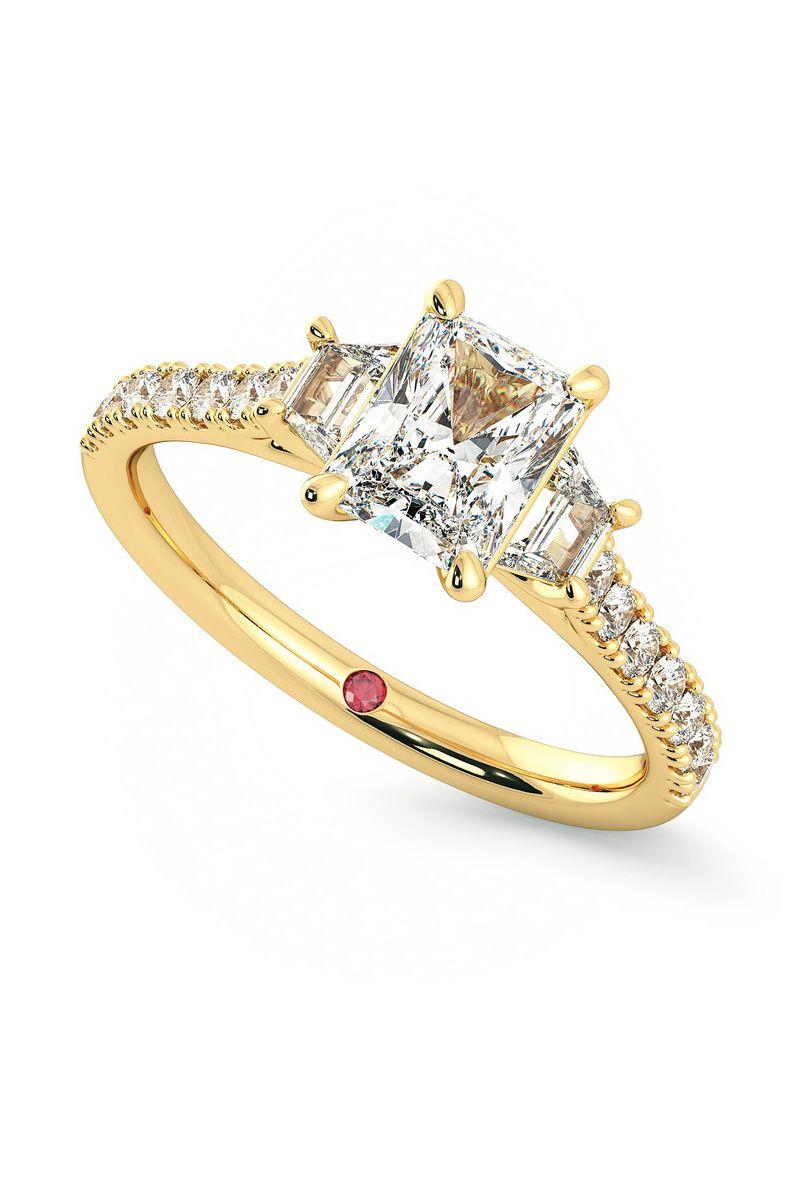 Meghan Markle engagement ring replica
