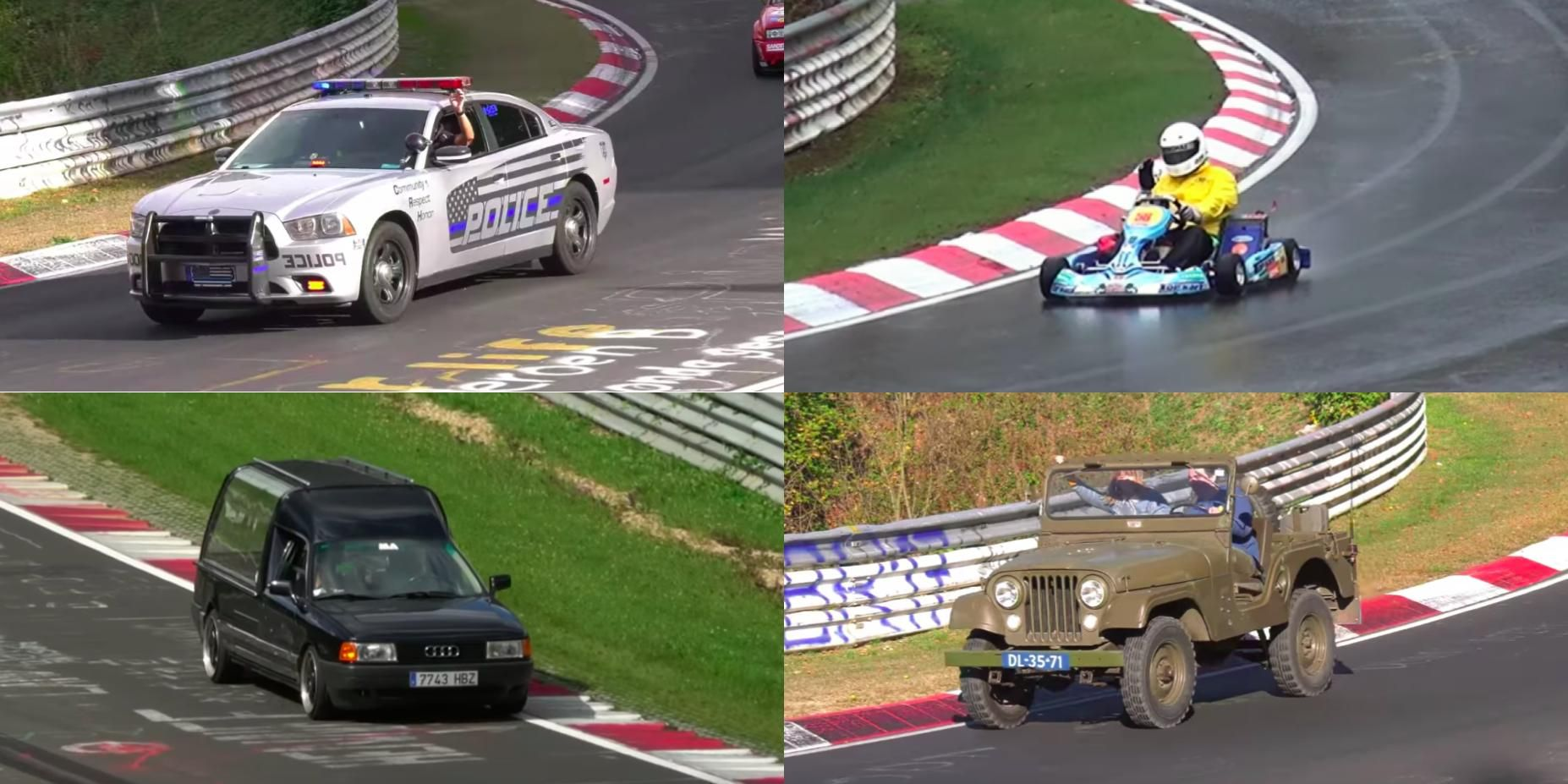 These Are the Most Bizarre Vehicles to Drive on the Nurburgring
