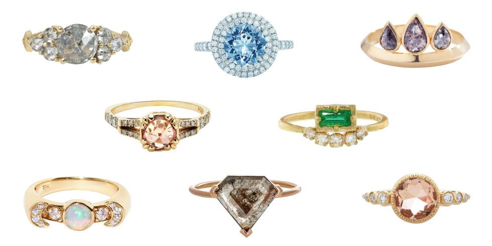 25 Unique (And Affordable!) Engagement Rings