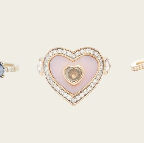 21 unique and affordable engagement rings that think outside the diamond solitaire box