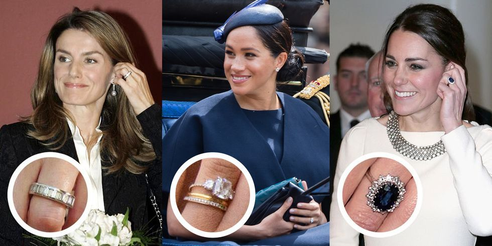 The Most Famous Royal Engagement Rings in Recent History