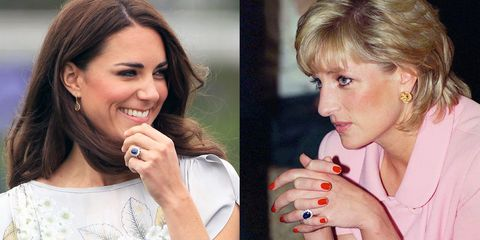 Kate Middleton S Engagement Ring Controversy Princess Diana